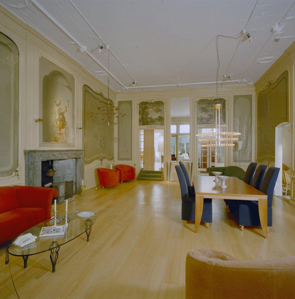 File interieur 18e eeuwse zaal richting grachtzijde for Interieur haarlem