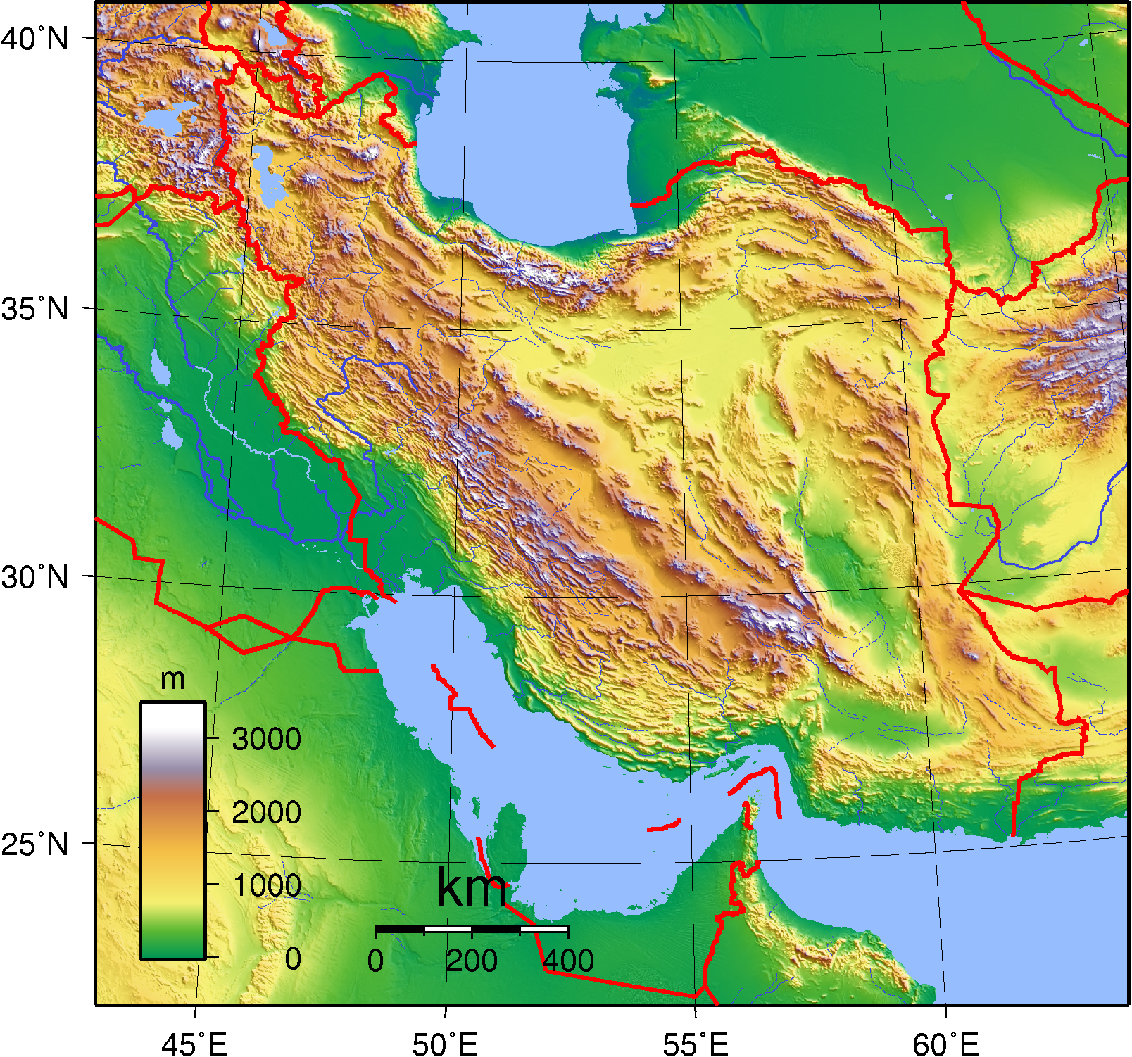 Fileiran Topography Wikipedia The Free Encyclopedia