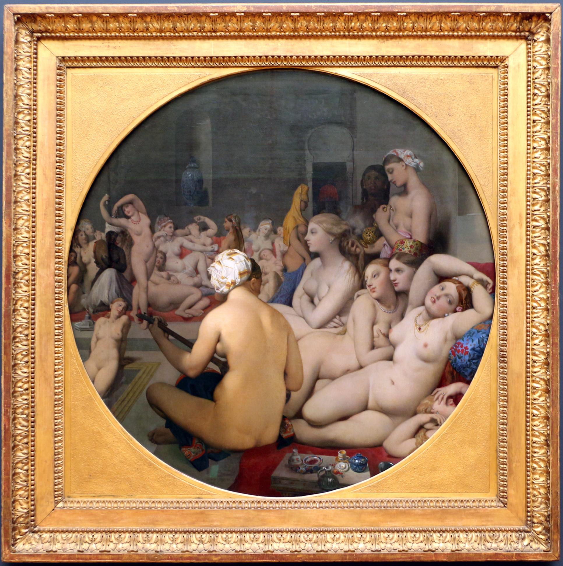 File:Jean-auguste-dominique ingres, il bagno turco, 1852-59 poi 1862 ...
