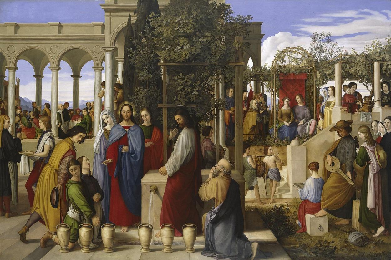 File Julius Schnorr Von Carolsfeld The Wedding Feast At Cana