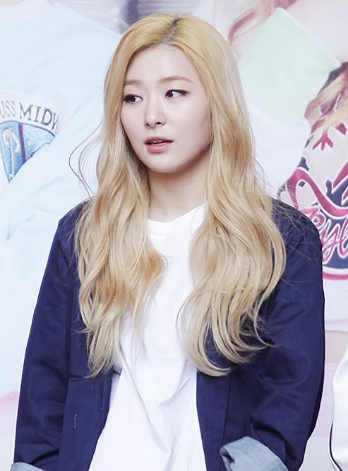 Kang Seulgi Ice Cream Cake