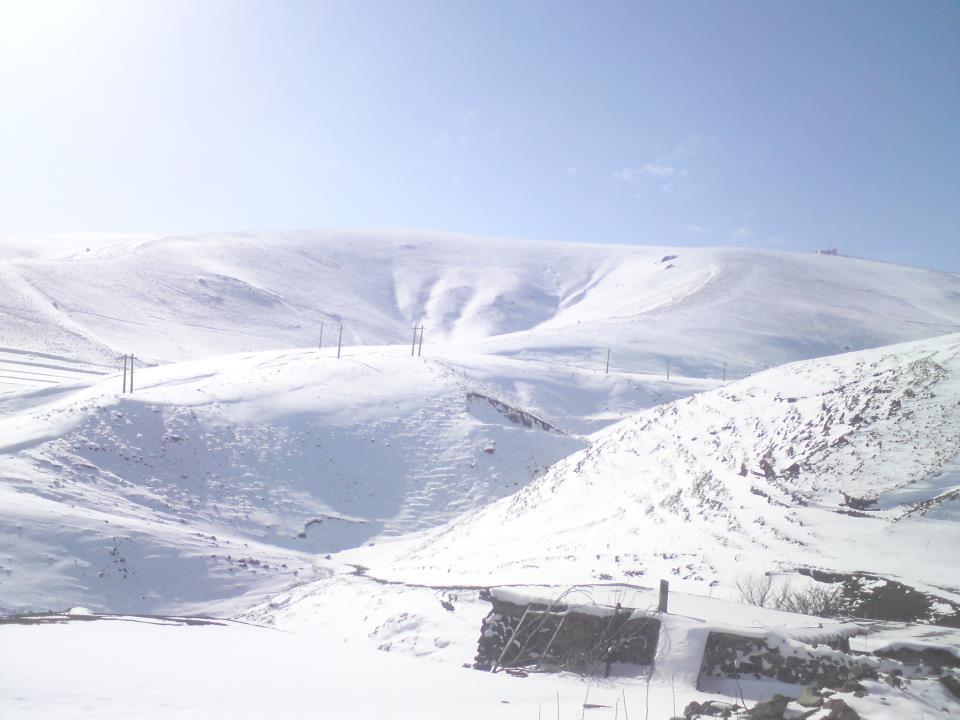 سوز سرما در زمستان خان کندی
