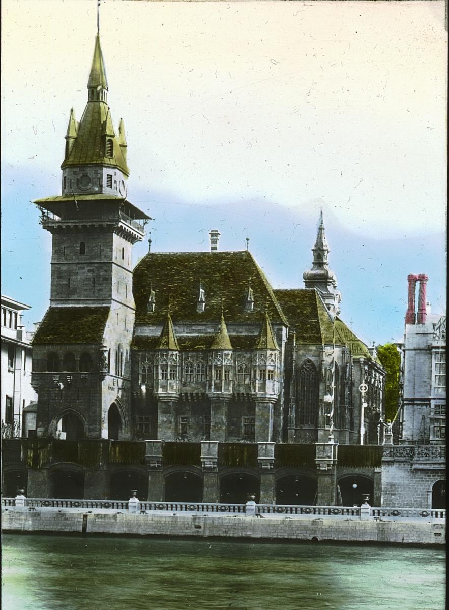 File le pavillon de la hongrie l 39 exposition universelle - Maison de la hongrie paris ...