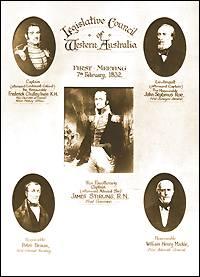 Members of the Western Australian Legislative Council, 1832–1870 Wikipedia list article