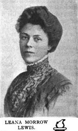 Lena Morrow Lewis, from a 1912 publication.
