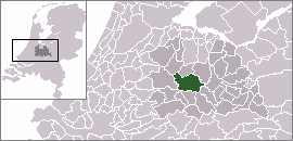 Location of Utrecht