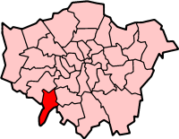 Kingston Upon Thames London, map