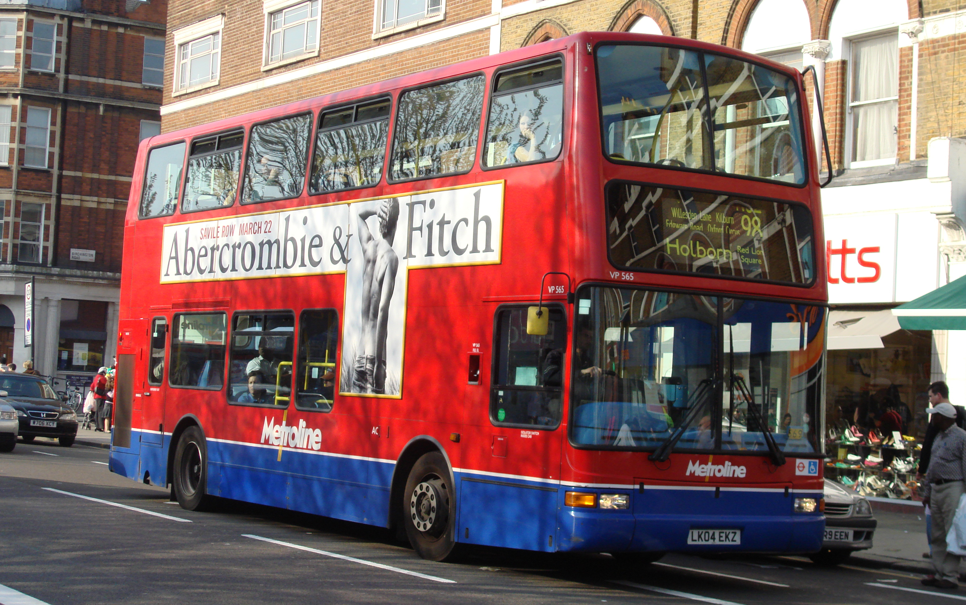 london buses route 98 - wikipedia