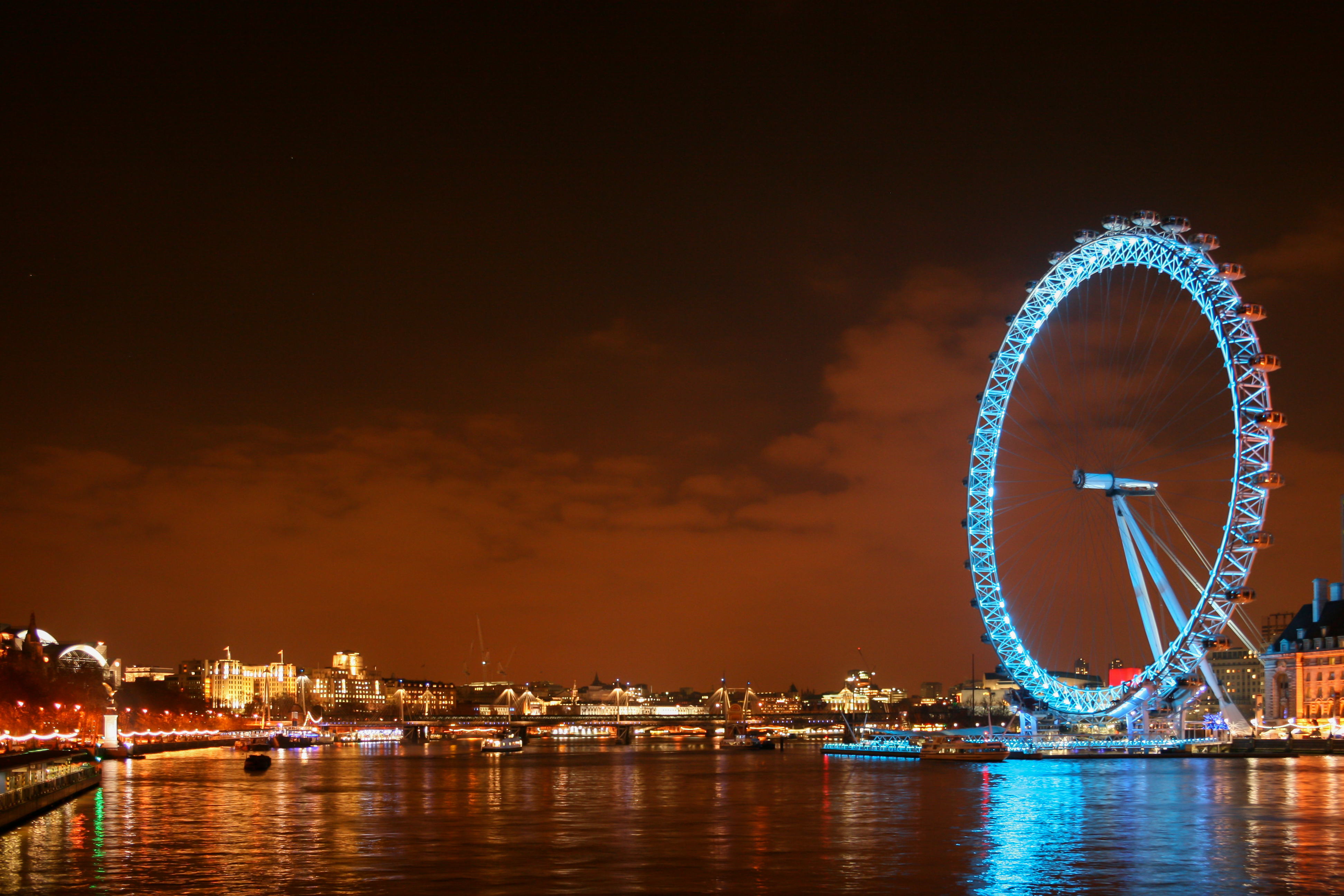 london eye by night - photo #3