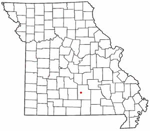Upton, Missouri unincorporated community in western Texas County, Missouri, United States