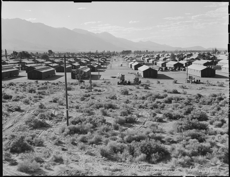 File Manzanar Relocation Center Manzanar California A