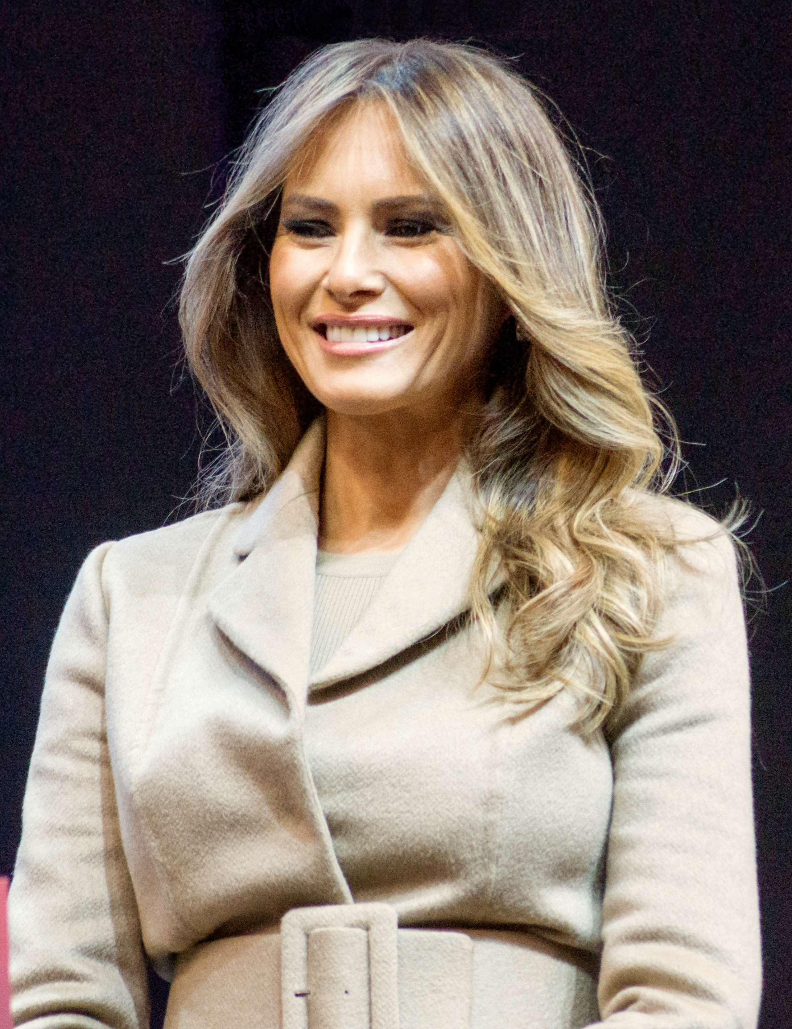 Melania Trump. aus Wikipedia ...