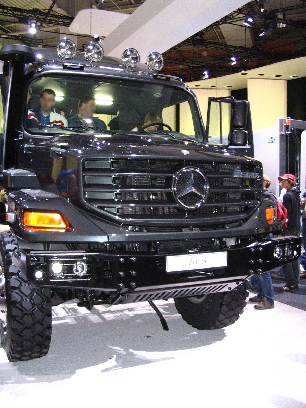Mercedes Benz Zetros Wikipedia