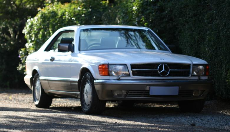 File mercedes benz 560 sec 1990 jpg wikimedia commons for Mercedes benz 1990