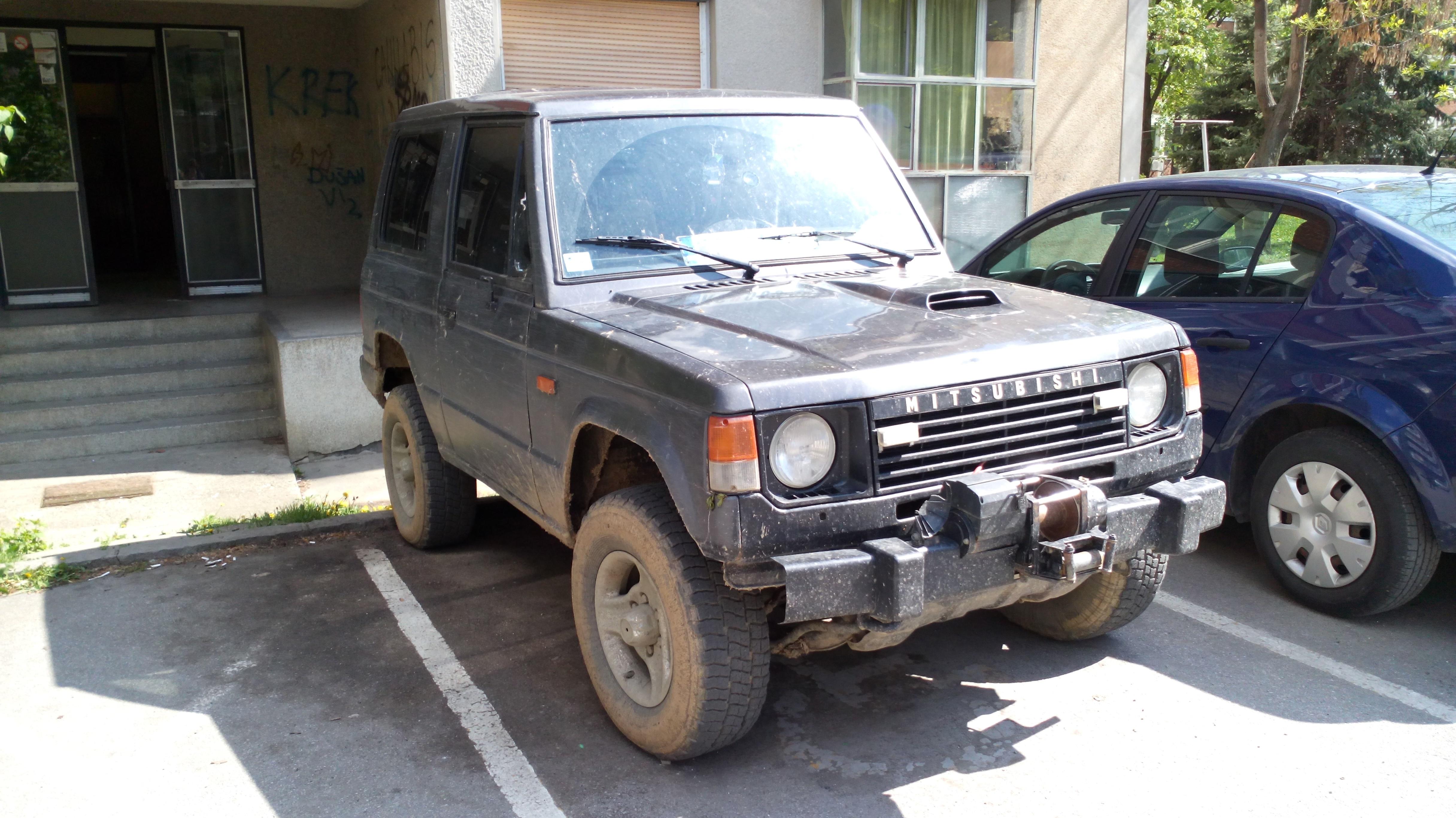 File Mitsubishi Pajero Mk1 Offroad Jpg Wikimedia Commons