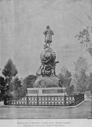 12 de octubre de 1892: gobierno de Reina Barrios celebra IV Centenario del descubrimiento de América