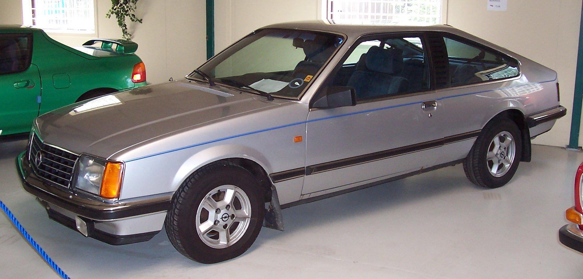 Car In German >> Opel Monza - Wikipedia