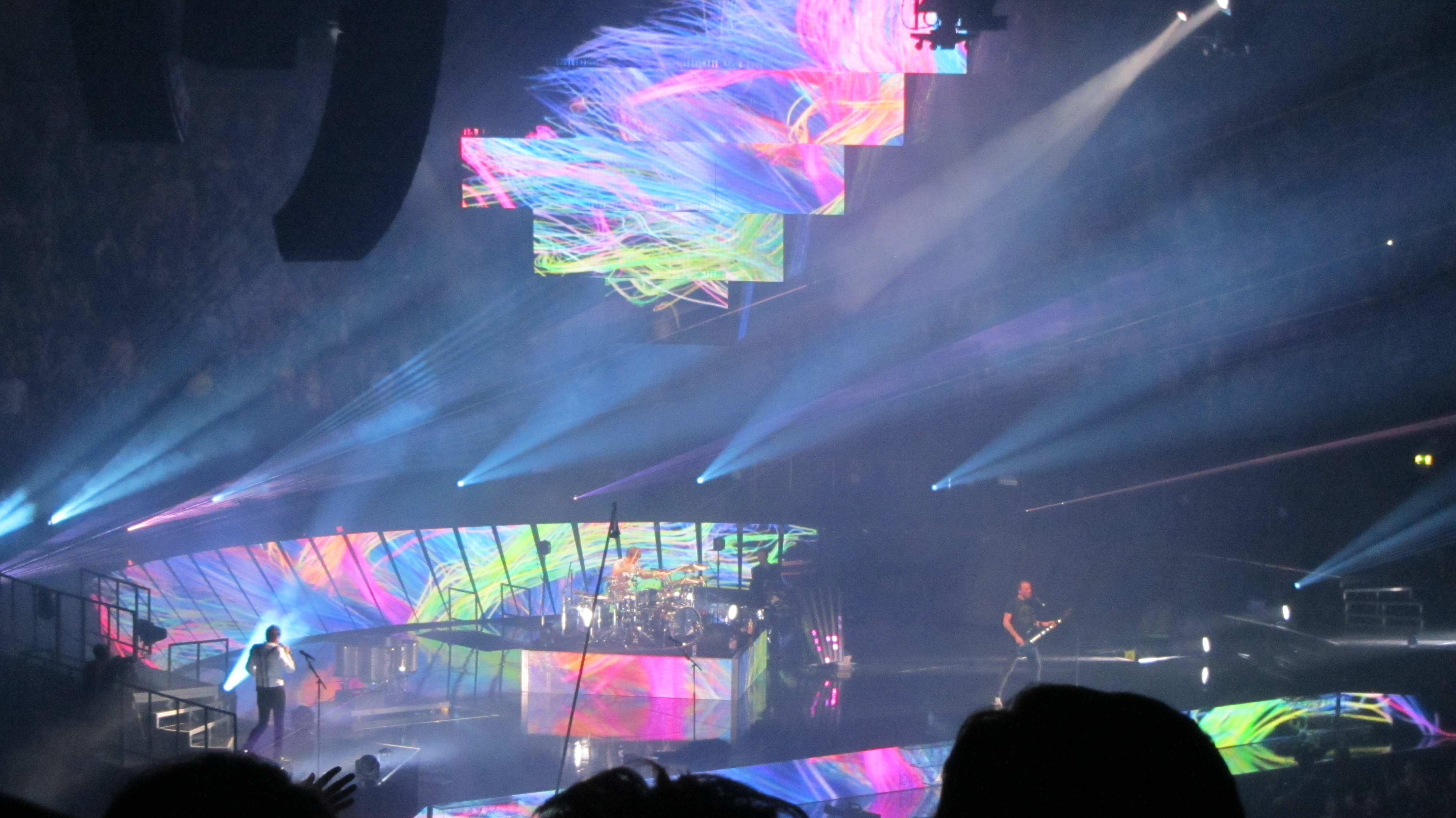 Matt Bellamy At the Rod Laver Arena 2013 Poster Muse