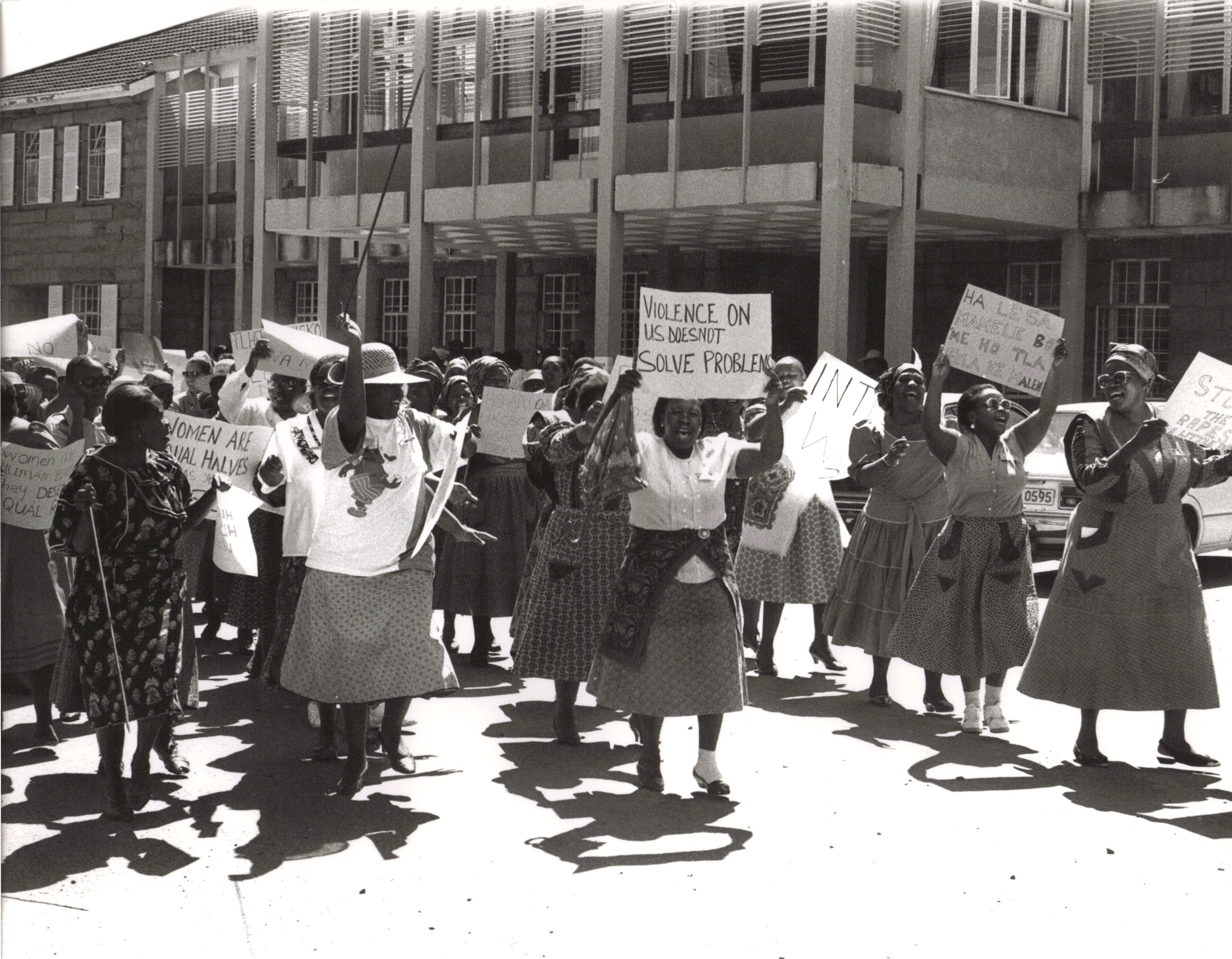 Women Protesting