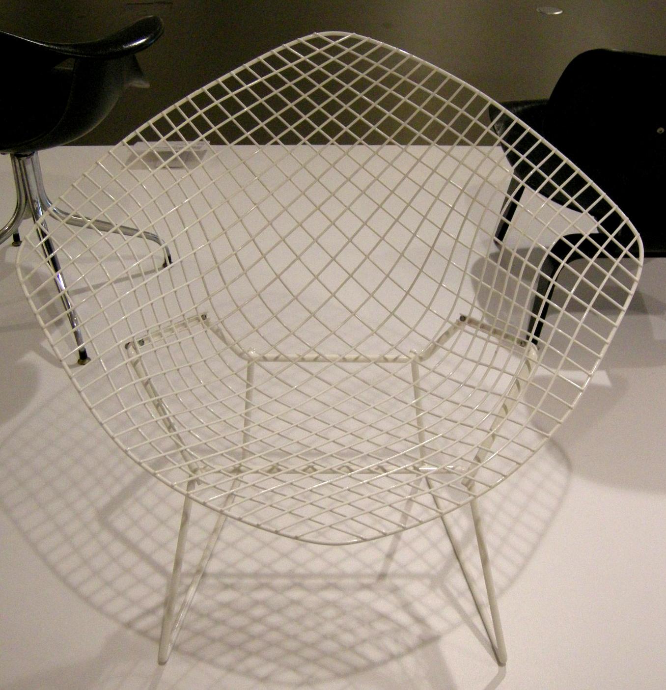 Bertoia diamond chair dimensions - File Ngv Design Harry Bertoia Diamond Chair 1951 Jpg