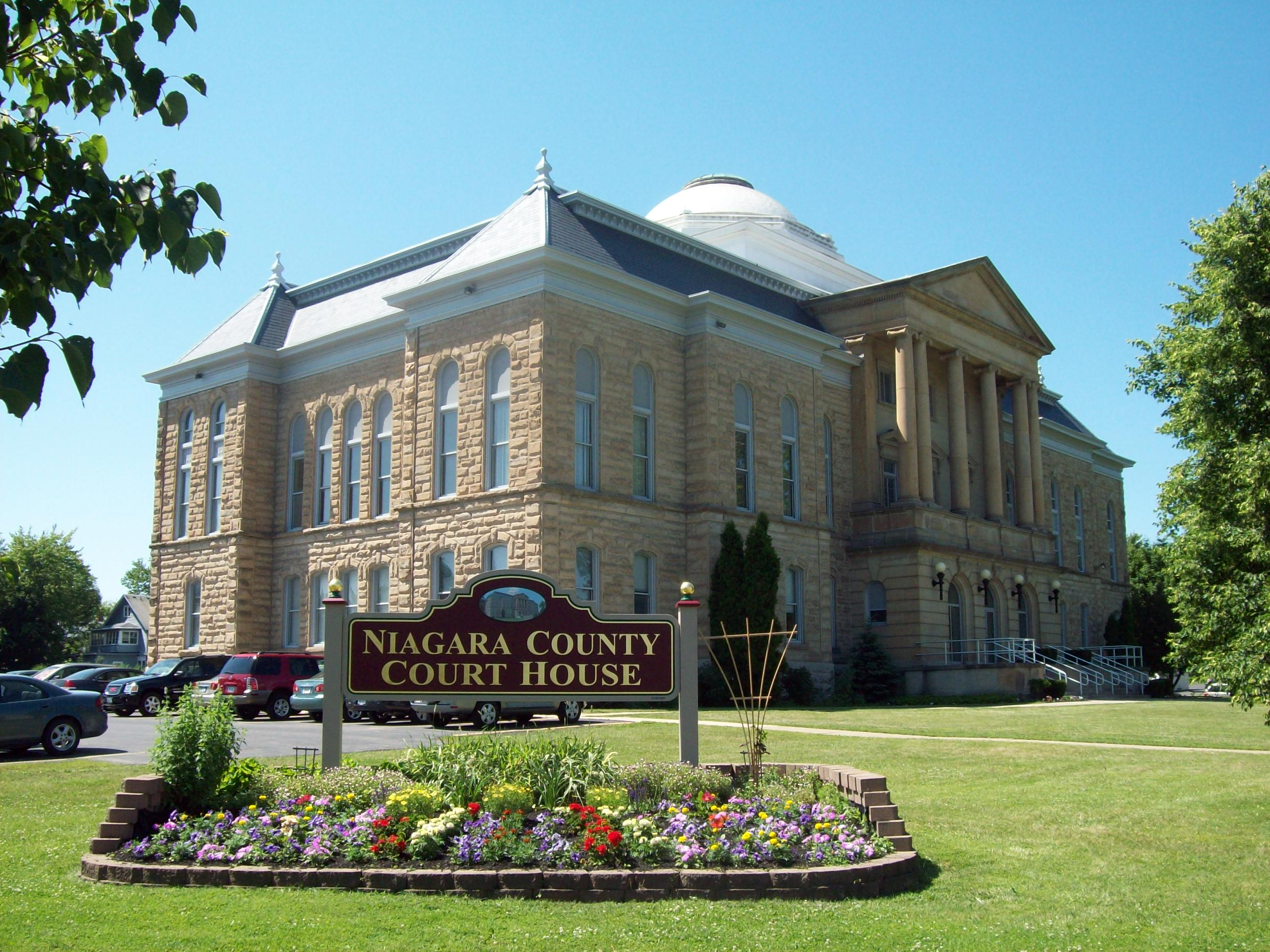 Niagara County Courthouse And County Clerk S Office Wikipedia