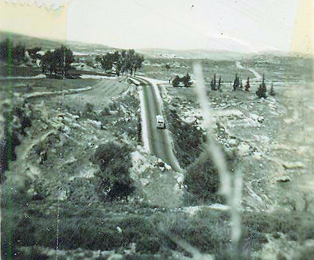 Old way to Jerusalem near the Arab village Castel.jpg