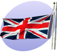 P UK Flag