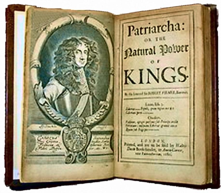 Sir Robert Filmer: Patriarcha