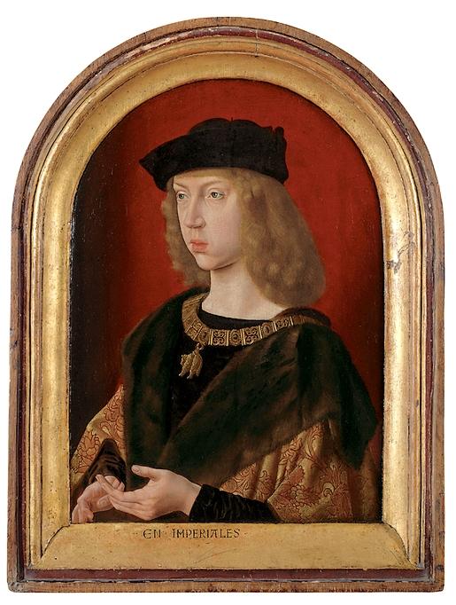 Philippe-le-Beau par le Maître de Saint-Gilles.