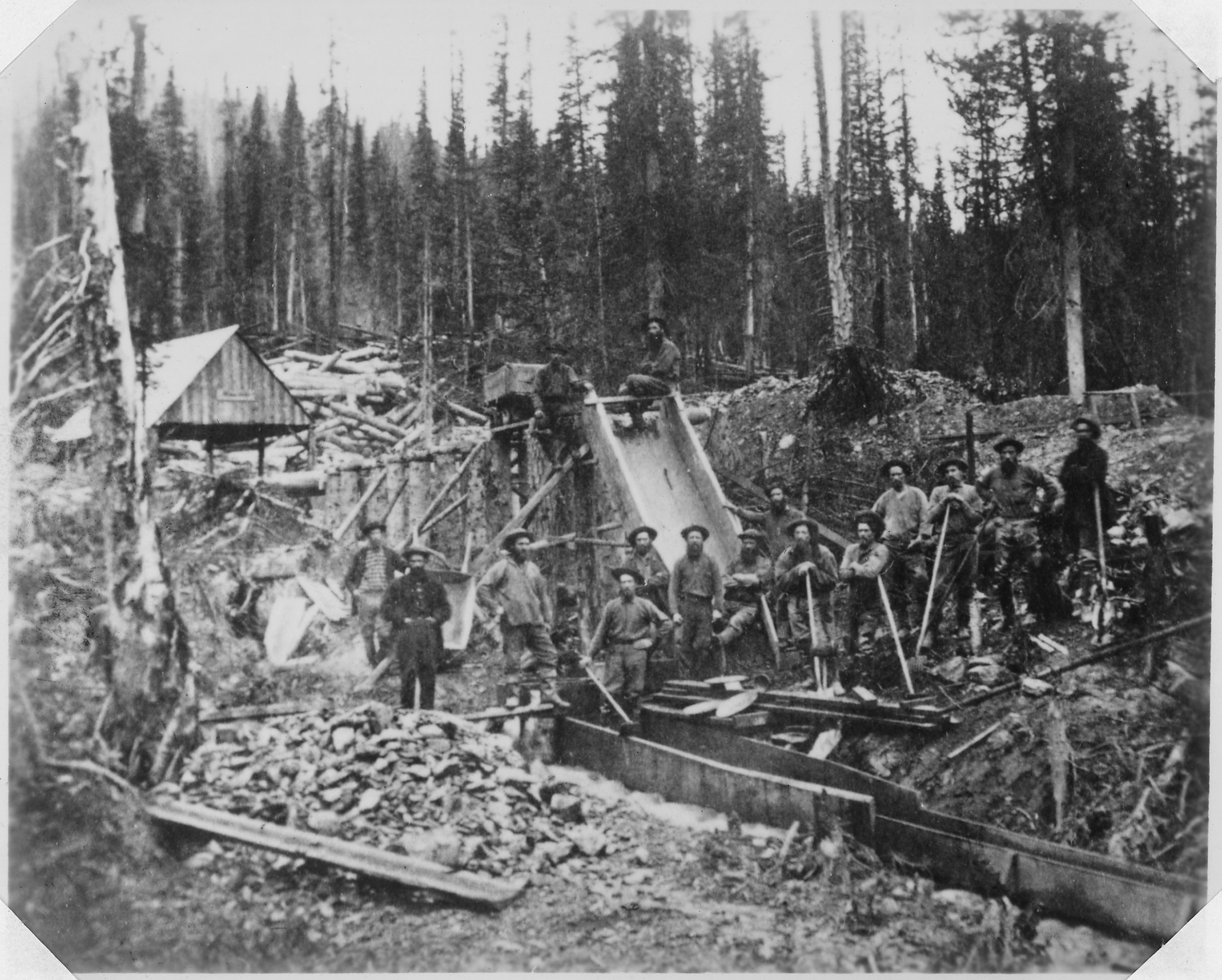 A history of california during the gold rush