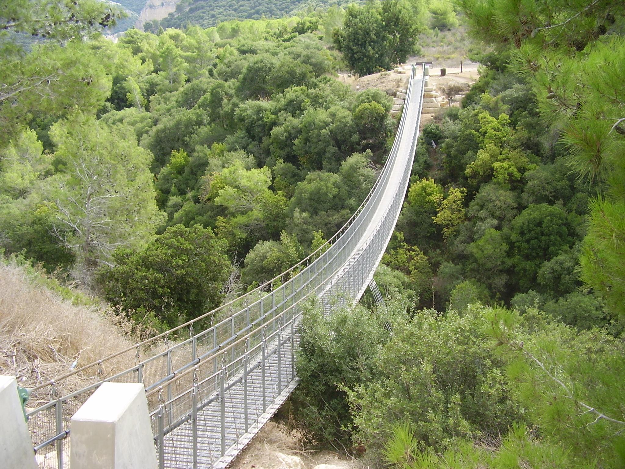 המקומות רומנטיים בישראל - הגשר התלוי, נשר