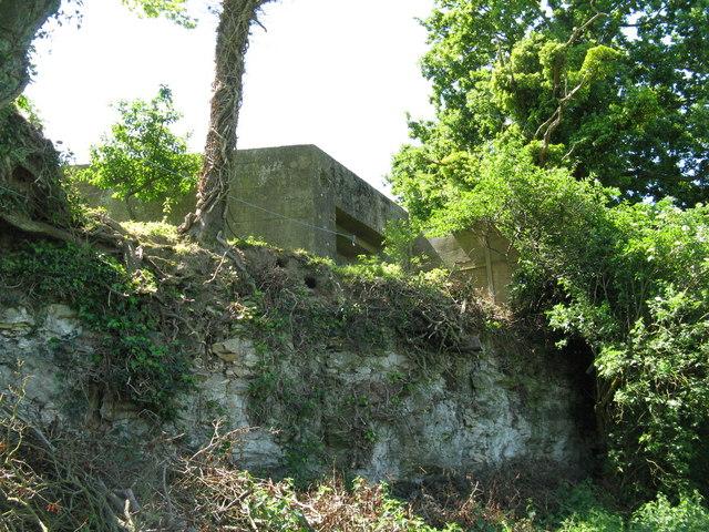 File:Pillbox west of Amberley Castle - geograph.org.uk - 1334387.jpg