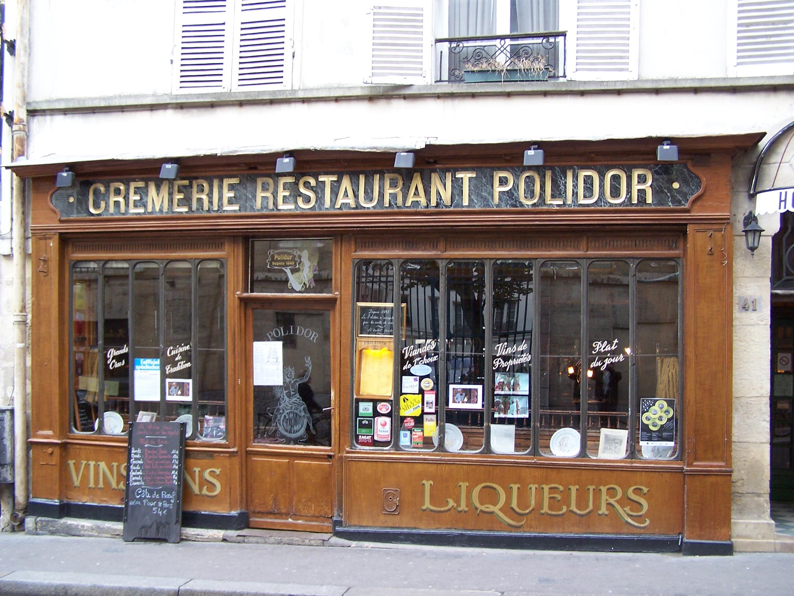 Restaurant Rue Monsieur Le Prince Paris