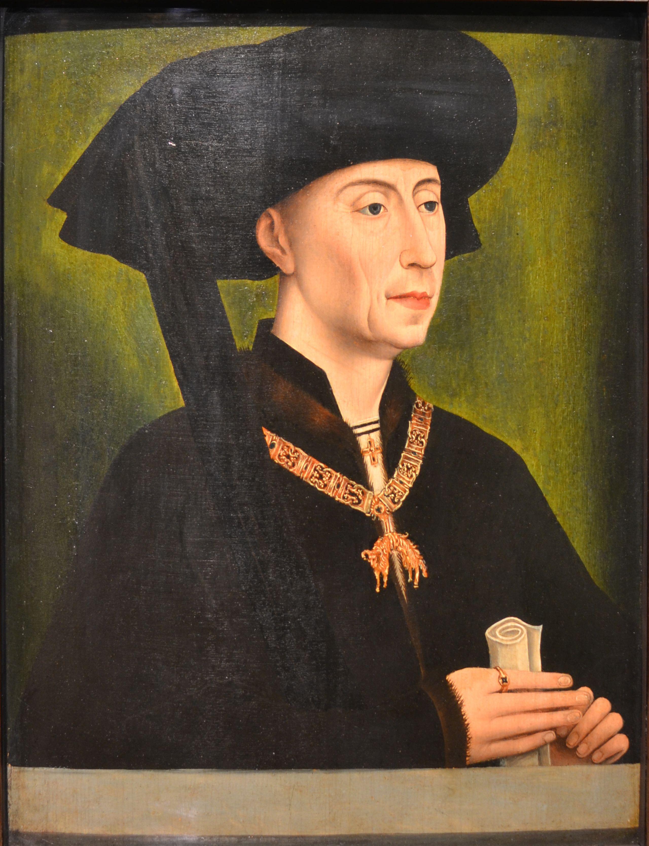 File Portrait De Philippe Le Bon D Apres Rogier Van Der Weyden Jpg