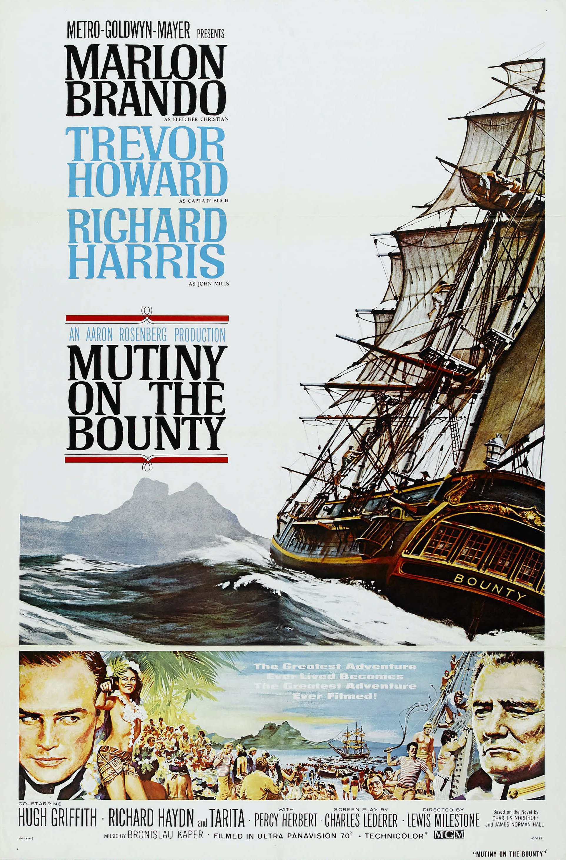Mutiny on the Bounty (1962 film) - Wikipedia