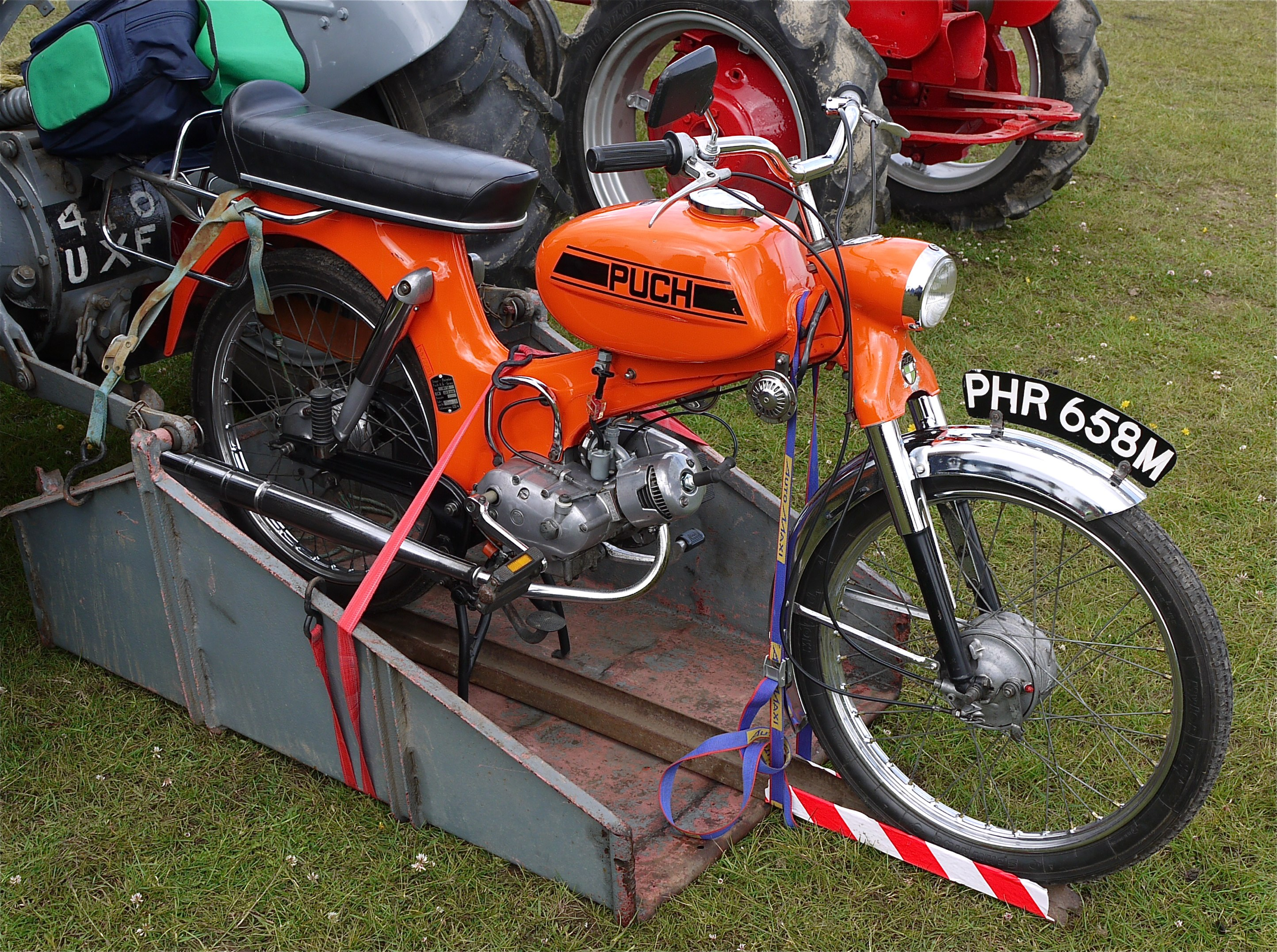 File:Puch moped, pity it stayed on the trailer - Flickr