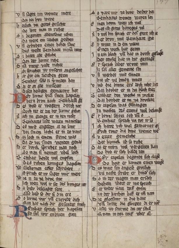 Handschrift um 1320–1330.