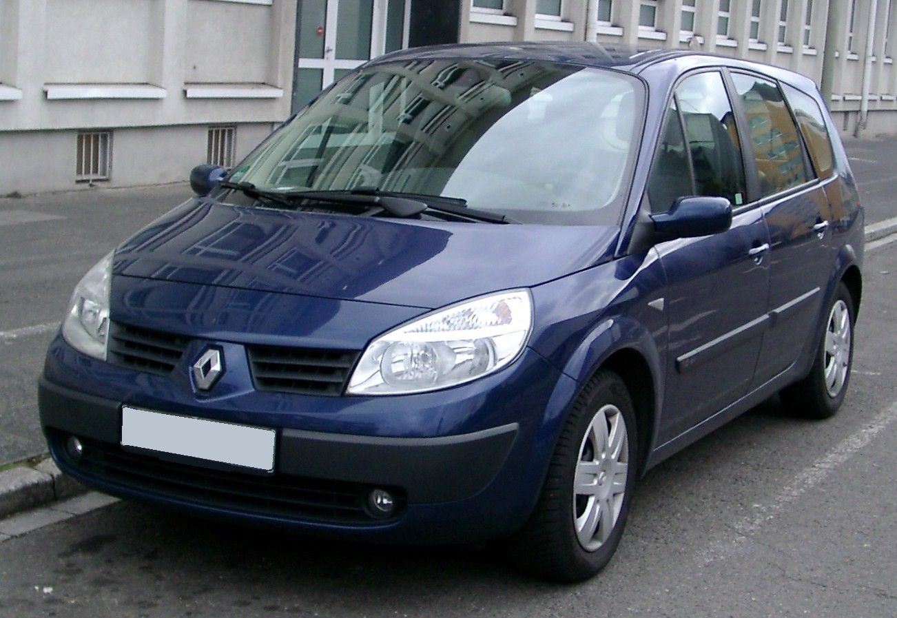 file renault scenic front wikimedia commons. Black Bedroom Furniture Sets. Home Design Ideas