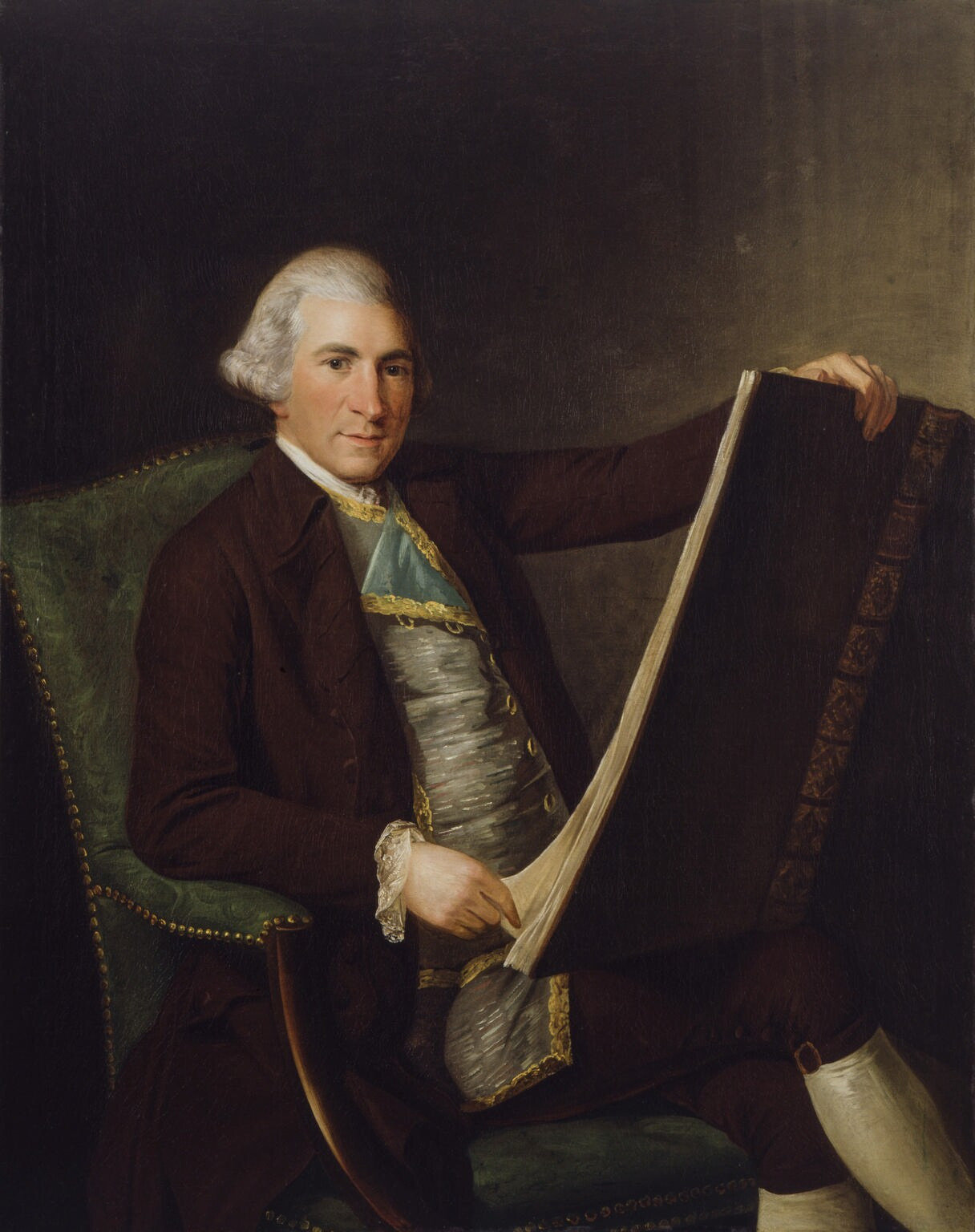 Portrait attributed to [[George Willison (artist)|George Willison]], c. 1770–1775