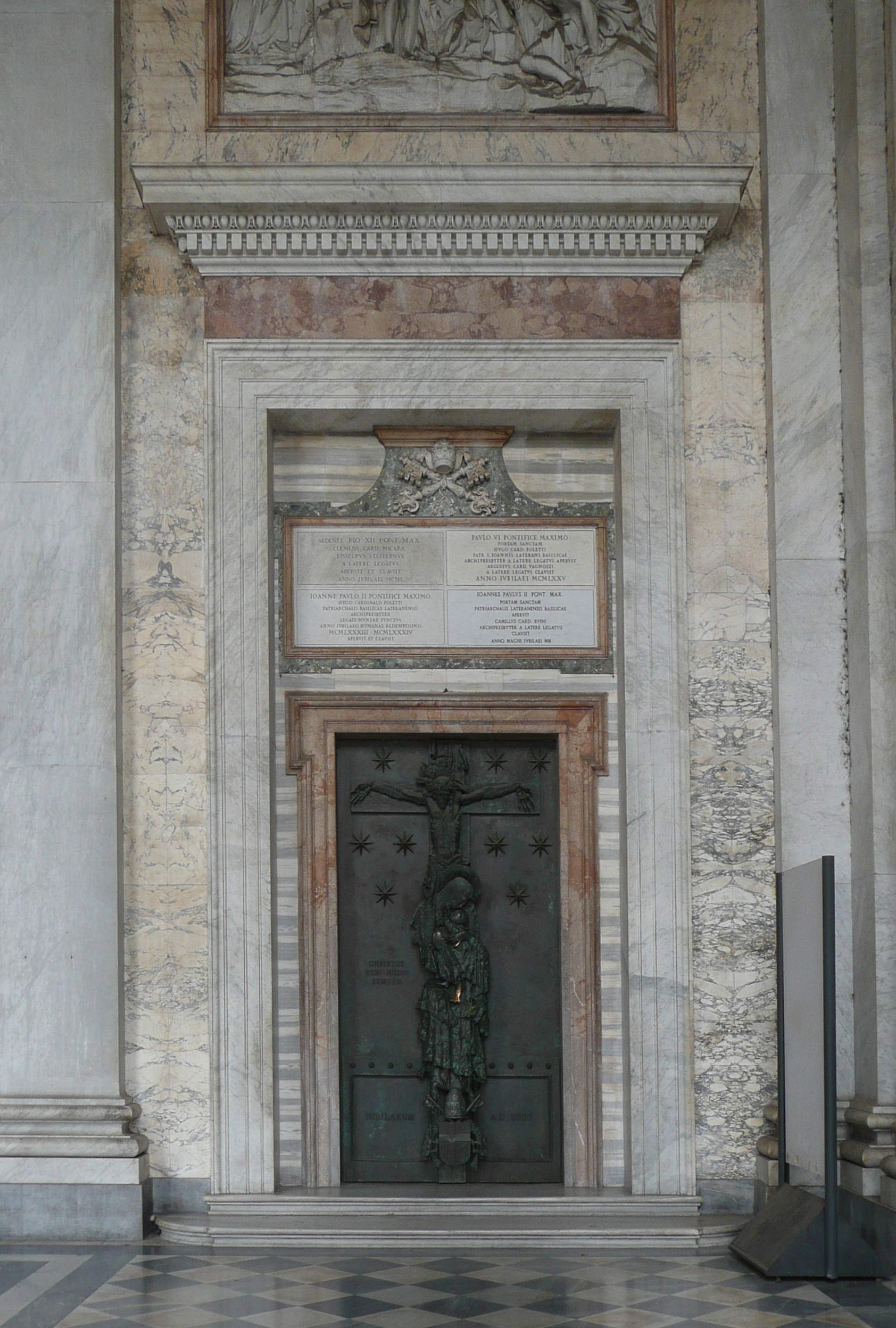 File roma s giovanni in laterano porta santa gs p1070476c - Immagini porta santa ...