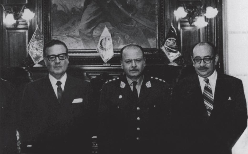 Español: Visita oficial a Perú en 1970: Salvad...