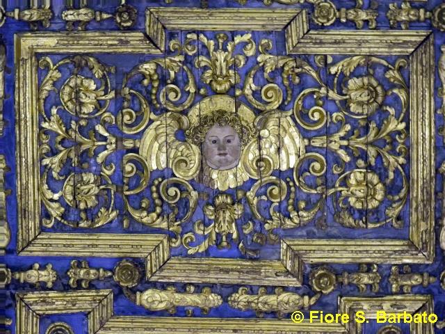 Decorazione Bagnoli : File san domenico interno soffitto ligneo decorato bagnoli