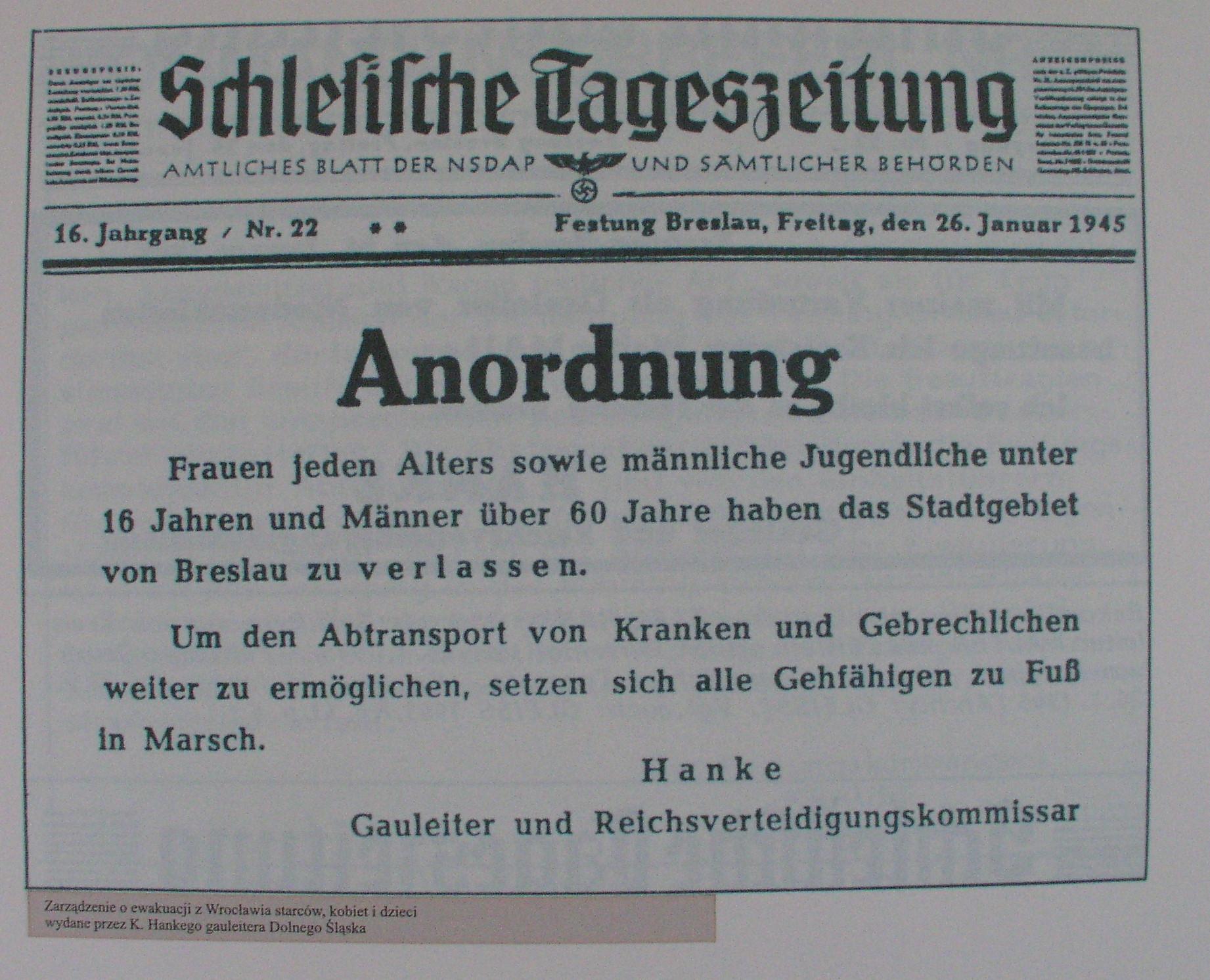 File:Schlesische tageszeitung anordnung 1945-01-26.JPG - Wikimedia ...