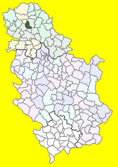 mapa srbije srbobran Srbobran (općina)   Wikiwand mapa srbije srbobran