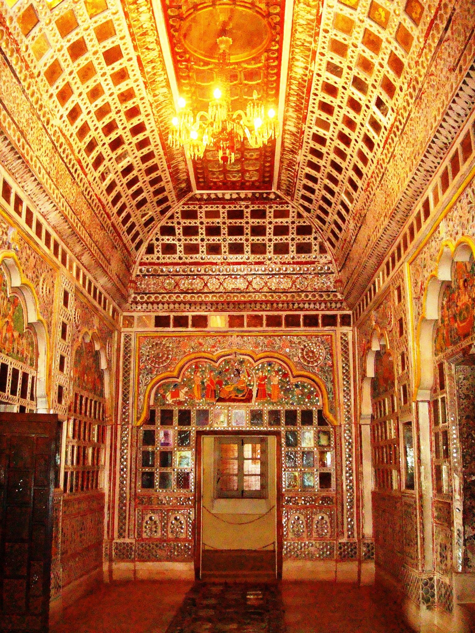File Sheesh Mahal At Mehrangarh Fort Jodhpur Jpg