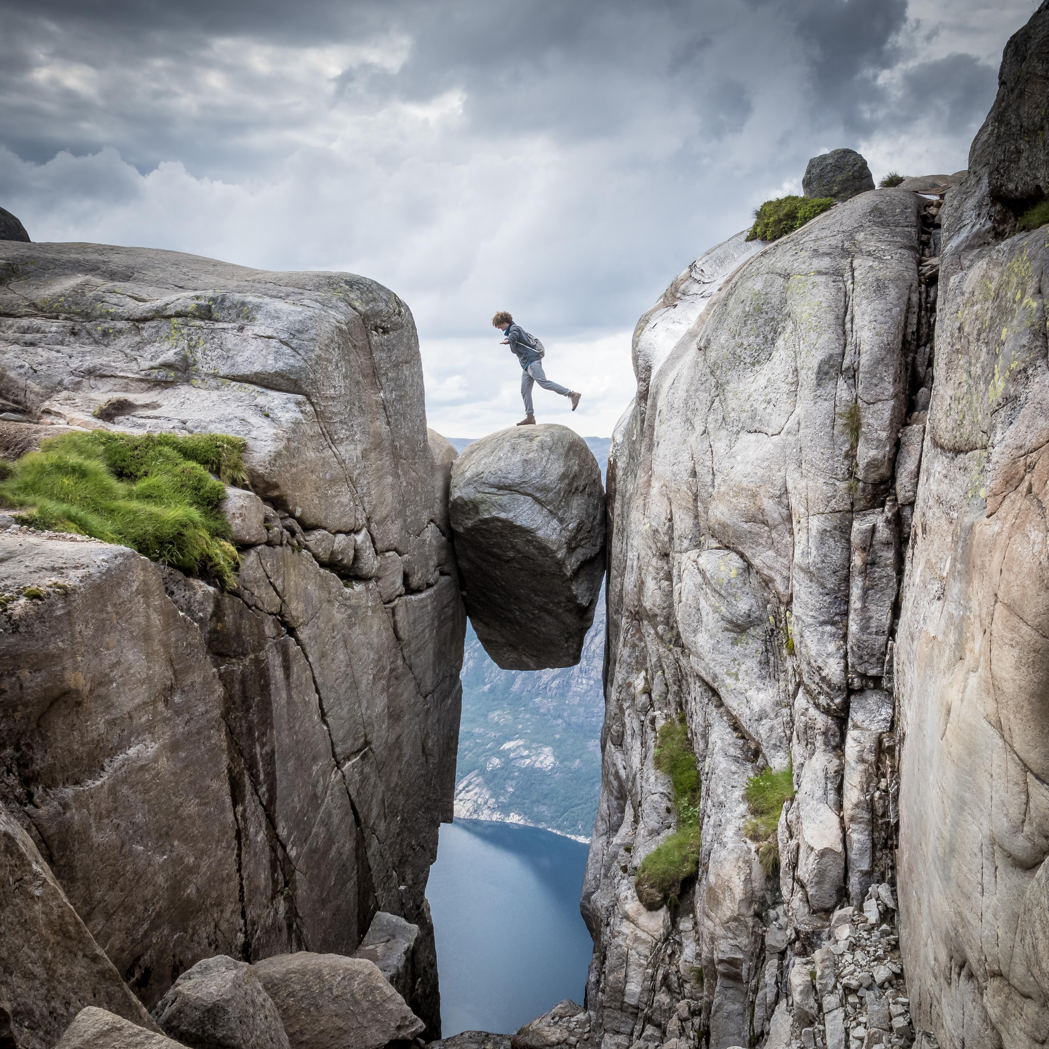 【北歐景點】朝聖挪威三大奇岩:聖壇岩Preikestolen健行紀錄 4