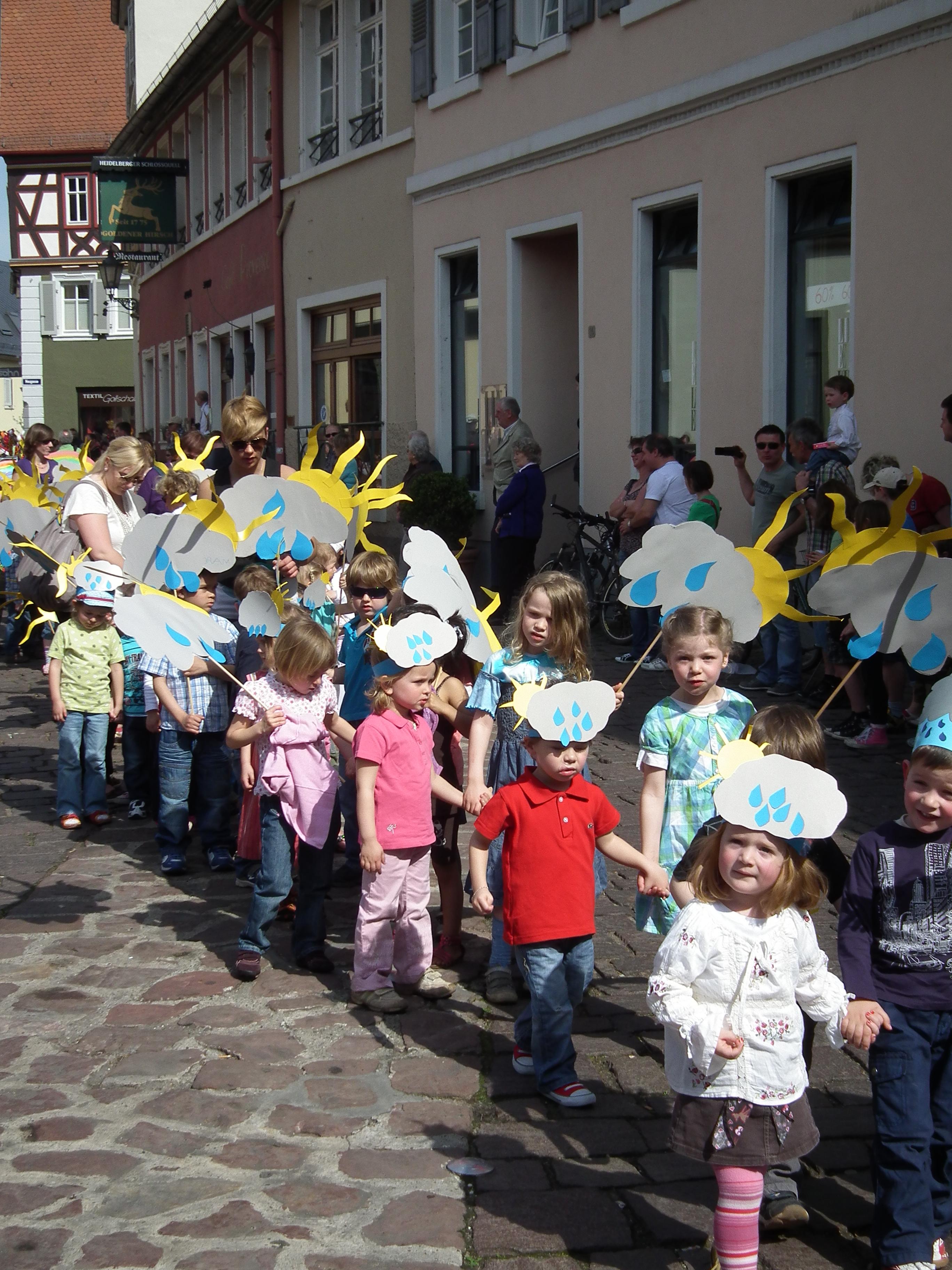 Kindergarten-Gruppe in Baden-Württemberg