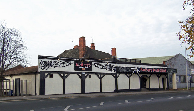 File Spider 39 s Nightclub 9 Cleveland Street Hull geograph org uk