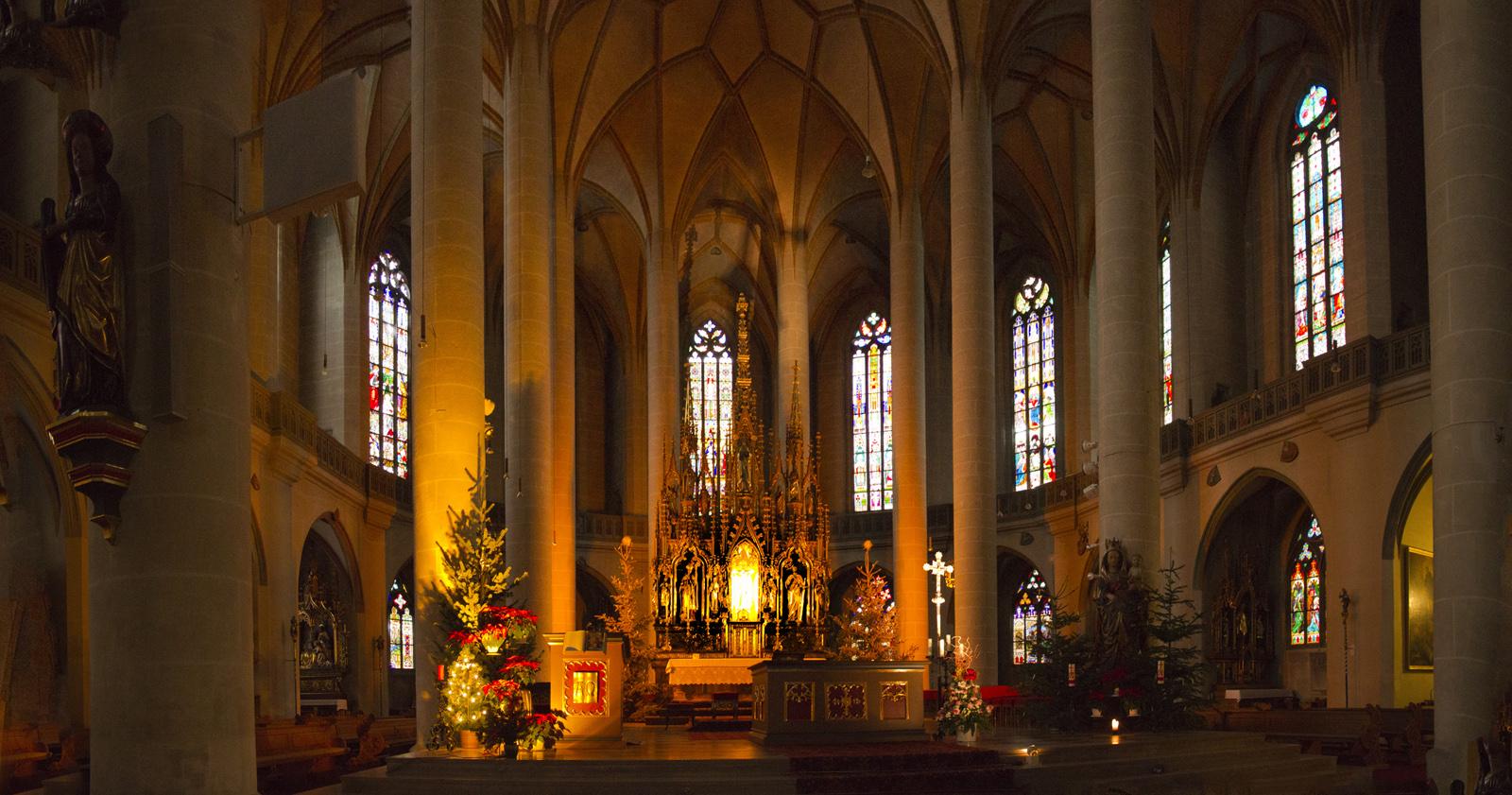 Basilika sankt martin - Architekt amberg ...