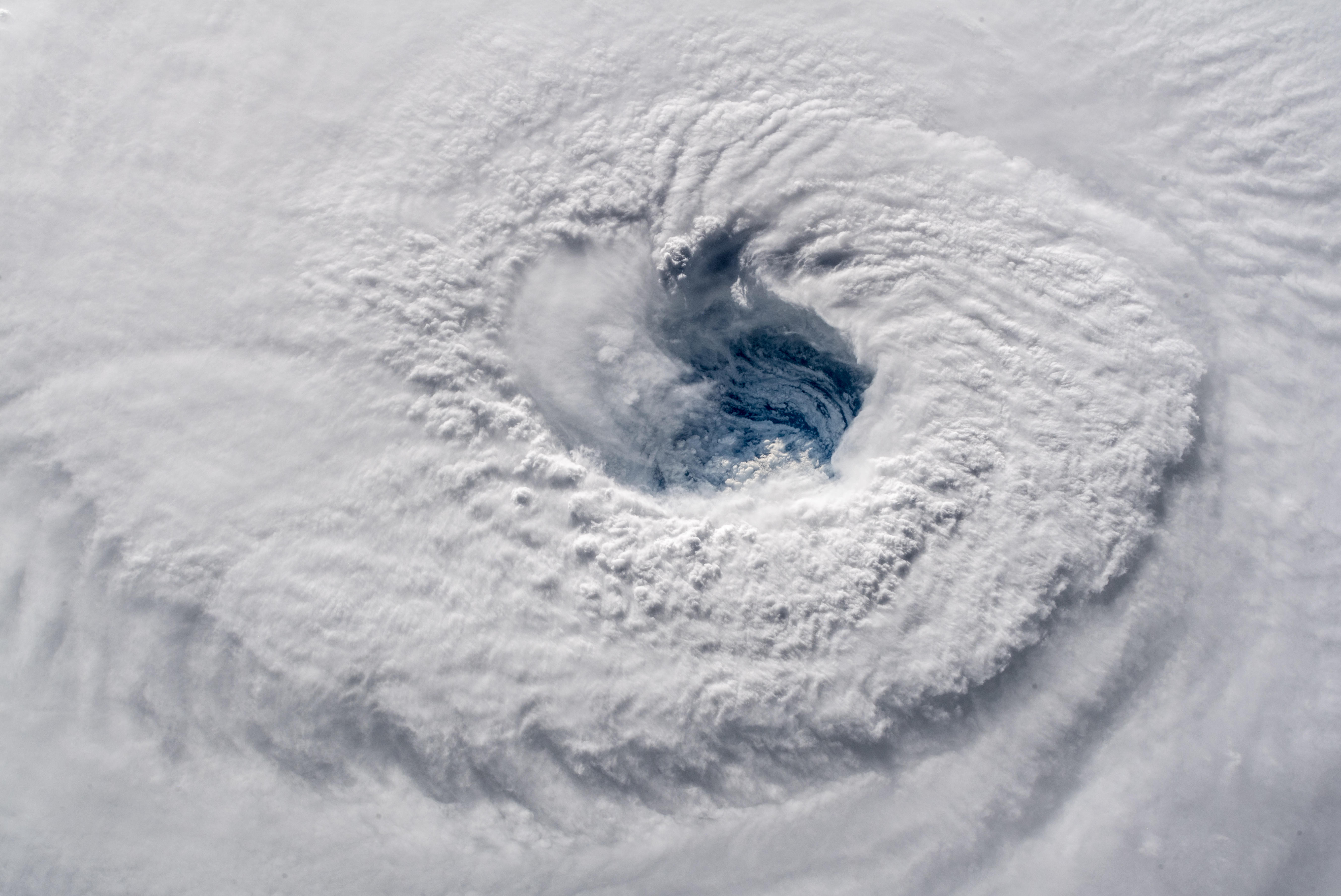 View of Hurricane Florence from space